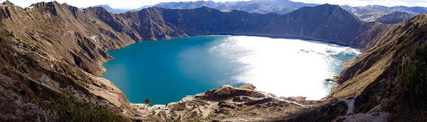 La Laguna Quilotoa – Ecuador