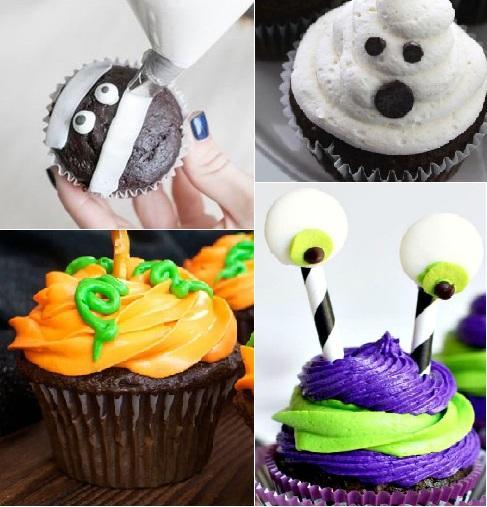 Adipiscor ideas para decorar cupcakes de halloween - Como decorar halloween ...
