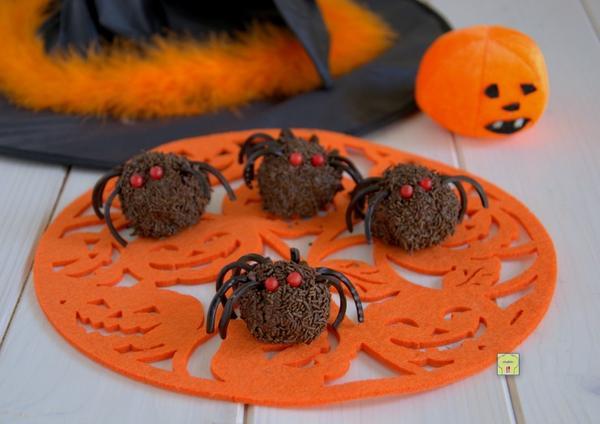 ¡Arañas de Halloween!