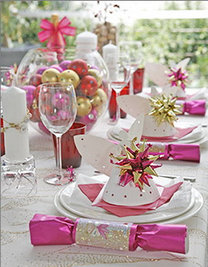 Adipiscor tips excelentes para decorar tu mesa de navidad - Decorar mesa navidad manualidades ...