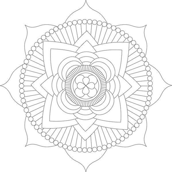 ¿Cómo dibujar tu propio Mandala?