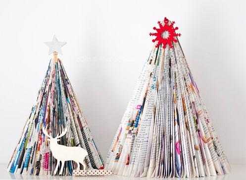 adornos navidad reciclados