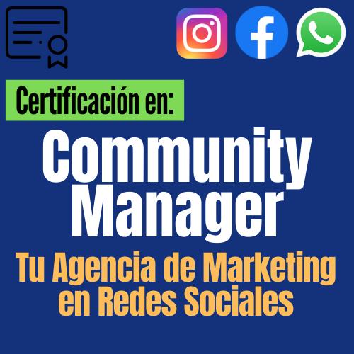 Community Manager y Tu Agencia de Marketing en Redes Sociales