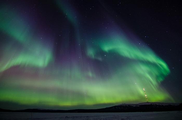 Auroras Boreales En dónde verlas